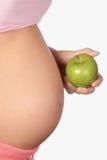 karmowy zdrowy kobieta w ciąży Obrazy Stock