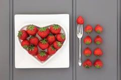 karmowy zdrowy serce Fotografia Stock