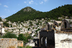 Karmylassos - Kayakoy (Rock Village) Stock Photo