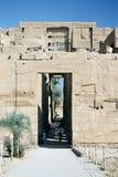 Karnak寺庙。 免版税库存照片