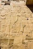 Karnak寺庙古老废墟在埃及 免版税库存照片