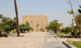 Karnak寺庙复杂。 免版税库存图片