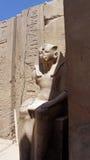 karnak寺庙  免版税图库摄影