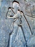 karnak寺庙 免版税库存图片
