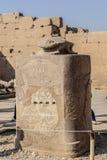 Karnak寺庙 图库摄影