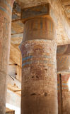 Karnak świątyni szczegóły Obrazy Royalty Free