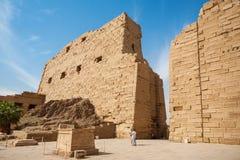 Karnak świątyni widok Luxor egiptu zdjęcia royalty free