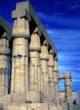 Karnak świątynia, kolumnada Zdjęcia Royalty Free