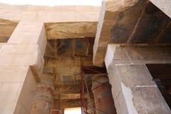Karnak świątynia - Najwięcej ogromnej świątyni przy Egipt fotografia stock