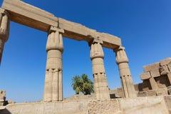 Karnak świątynia - Najwięcej ogromnej świątyni przy Egipt zdjęcia royalty free
