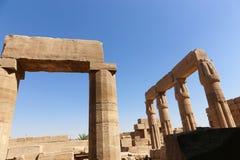 Karnak świątynia - Najwięcej ogromnej świątyni przy Egipt obraz stock
