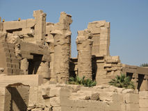 Karnak - Луксор Стоковая Фотография