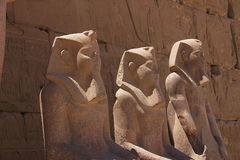 Karnak 14. Karnak view of temple - Egypt Royalty Free Stock Photo