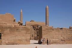 Karnak 16. Old Karnak view of temple - Egypt Royalty Free Stock Photo