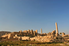 Karnak. Temple of Karnak - wide view royalty free stock image