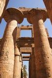 Karnak 22. Karnak view of temple - Egypt Royalty Free Stock Images