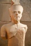 Άγαλμα στο ναό Karnak Στοκ φωτογραφίες με δικαίωμα ελεύθερης χρήσης