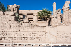 karnak egiptu Luxor świątyni obraz royalty free