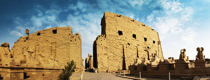 Karnak - Egypt. Ruin of temple Karnak - Egypt royalty free stock photo