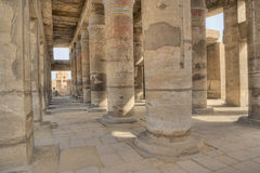 karnak Luxor świątynia Fotografia Royalty Free