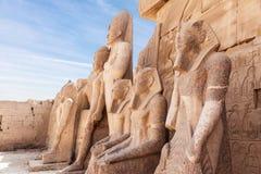 karnak Luxor świątynia Obraz Royalty Free