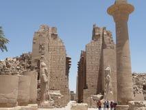 Karnak ruins Royalty Free Stock Photos