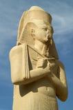 karnak statua Fotografia Royalty Free