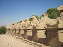 Karnak Tempel in Ägypten Stockbild