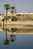 Karnak Tempel, Ägypten Lizenzfreies Stockbild