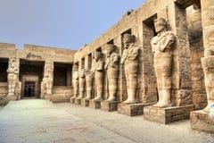 Karnak Tempel Stockfotos
