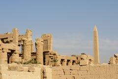 Karnak Tempel Lizenzfreies Stockfoto