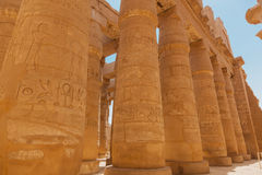 Karnak tempel Royaltyfri Foto