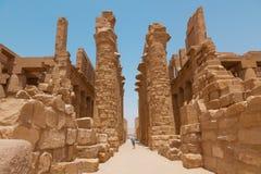 Karnak tempel Royaltyfri Bild