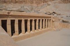 Karnak tempel i Egypten Royaltyfri Fotografi