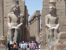 Karnak-Tempel Luxor Stockfotografie