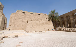 Karnak temple. Karnak is a huge complex of religious buildings in egypt, luxor Royalty Free Stock Photos