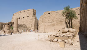 Karnak temple. Karnak is a huge complex of religious buildings in egypt, luxor Royalty Free Stock Photography