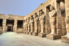 Karnak temple. In Luxor, Egypt stock photos