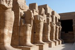 Karnak Temple Stock Photography