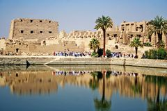 Free Karnak Temple Royalty Free Stock Photo - 4662205