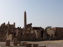 Karnak temple stock photo