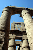 Karnak temple columns Stock Photography