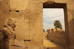 Karnak Temple Complex stock photography