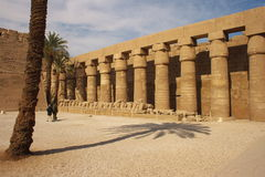 Karnak Temple Complex stock photo