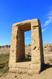 Karnak Temple Complex. Ancient gates at Karnak Temple Complex royalty free stock photography
