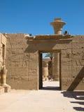 Karnak Temple. Complex in Luxor stock image