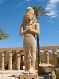 Karnak Temple. Complex in Luxor royalty free stock image