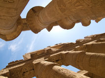 Karnak Temple. Complex in Luxor royalty free stock photography
