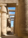 Karnak Temple. Complex in Luxor royalty free stock images