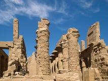 Karnak Temple. Complex in Luxor stock photo